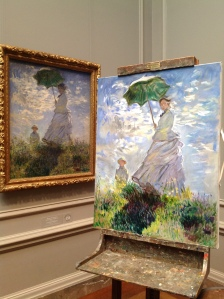 """Woman with Parasol"" in copy"