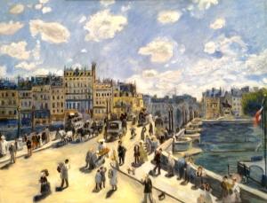 Pont Neuf after Renoir