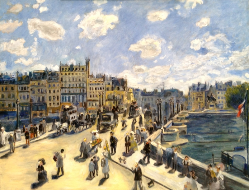Pont Neuf after Renoir