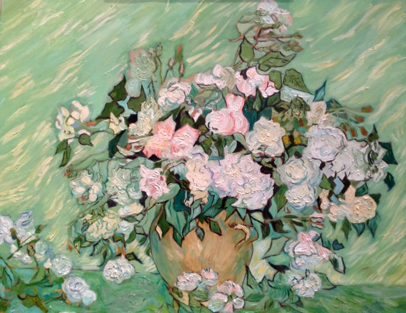 Roses after Vincent van Gogh