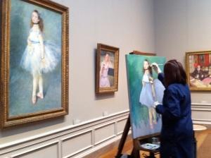 The Dancer after Renoir, in copy