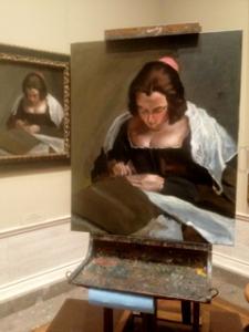 The Needlewoman, after D. Velazquez