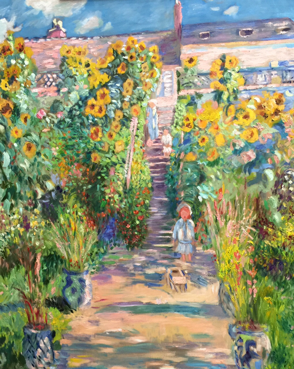 The Artistu0027s Garden At Vetheuil U2013 Claude Monet