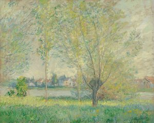 Claude Monet (French, 1840 - 1926), The Willows, 1880, oil on canvas, Corcoran Collection (Edward C. and Mary Walker Collection) 2015.19.65